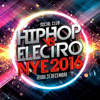 HIPHOP vs ELECTRO NYE 2016