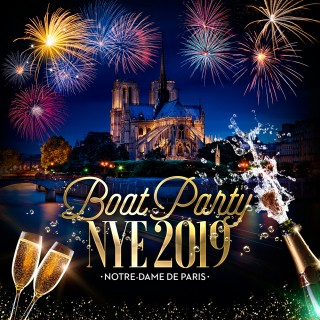 BOAT PARTY Notre-Dame de Paris NYE 2019