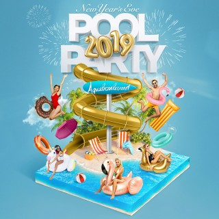 AQUABOULEVARD POOL PARTY New Year's Eve 2019